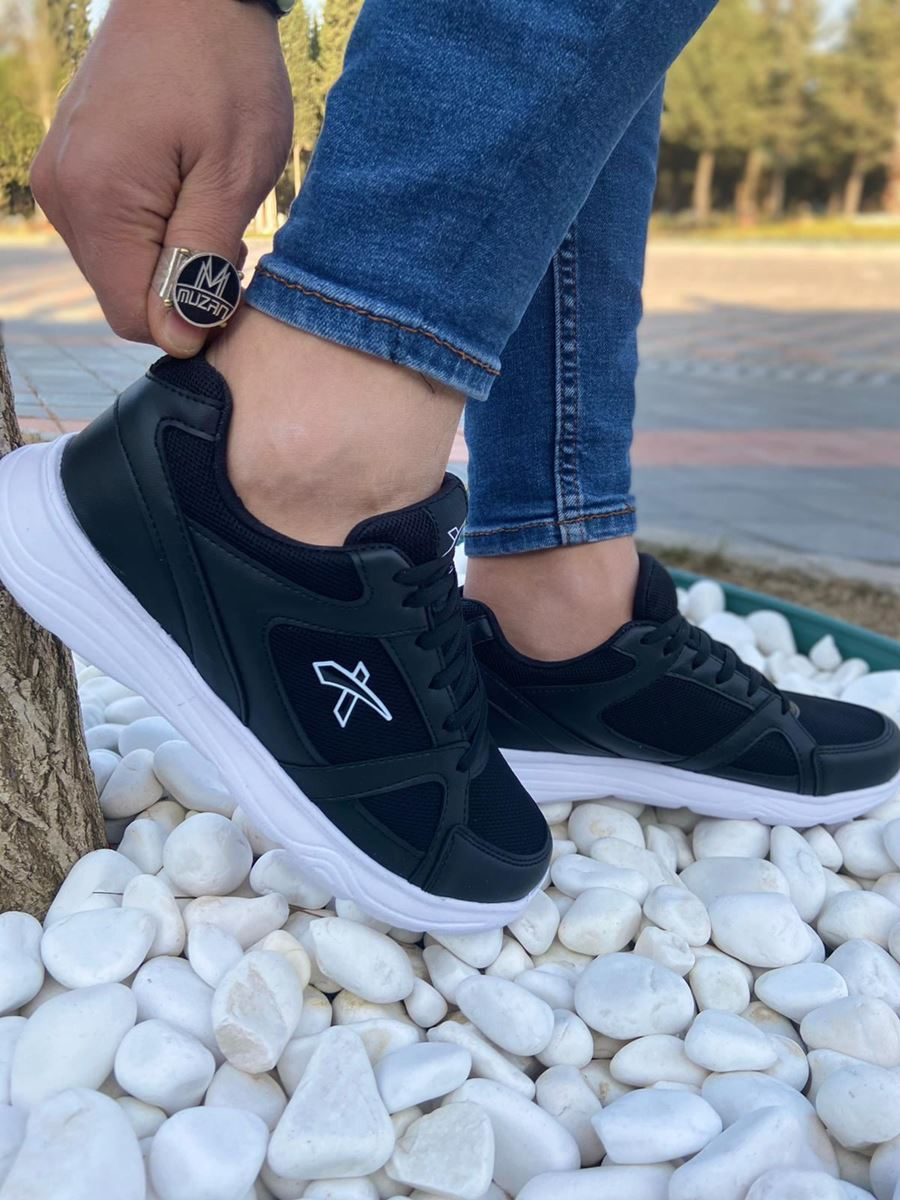 Picture of 050 Scot Black and White Sole Summer Sport Shoes
