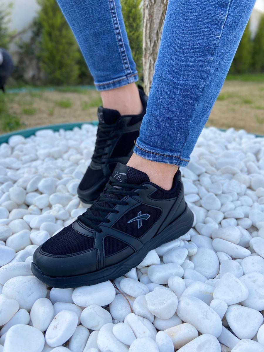 صورة 050 Scot Siyah Faylon Taban Yazlık Spor Ayakkabı