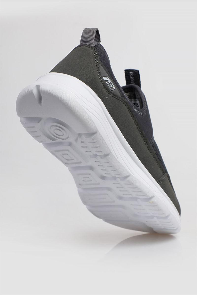 1612 Forza Füme Beyaz Faylon Taban Erkek Spor Ayakkabı resmi