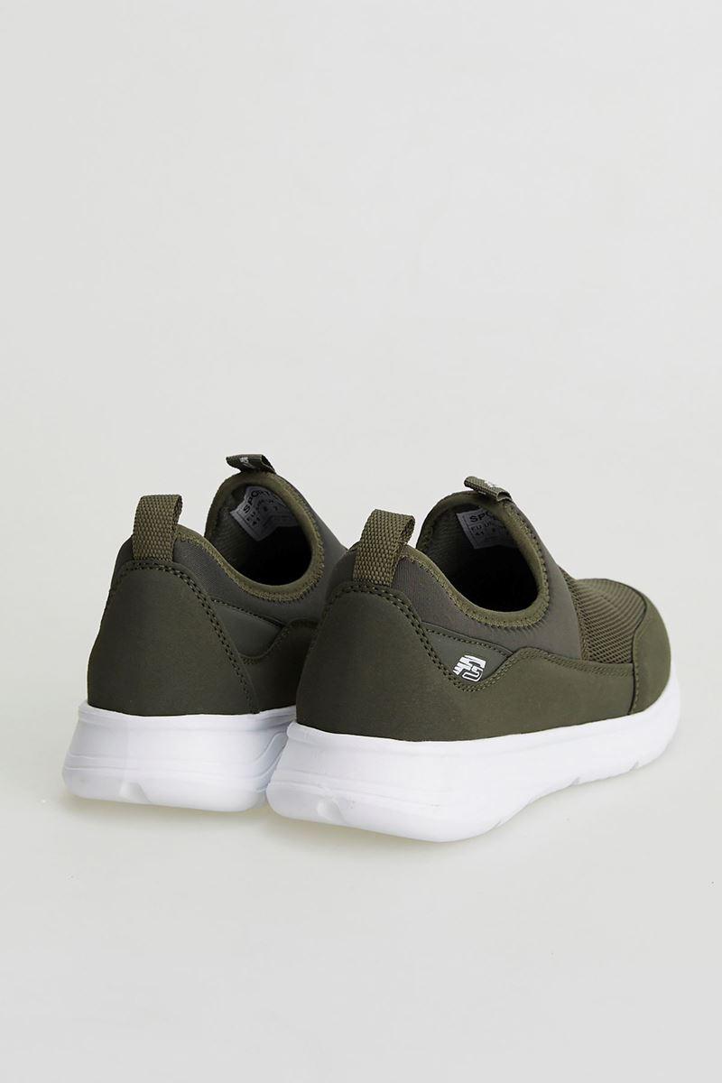 Picture of 1612 Forza Khaki White Faylon Sole Men's Sport Shoes
