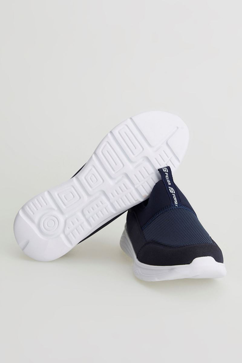 Picture of 1612 Forza Navy Blue Faylon Sole Men Sport Shoes