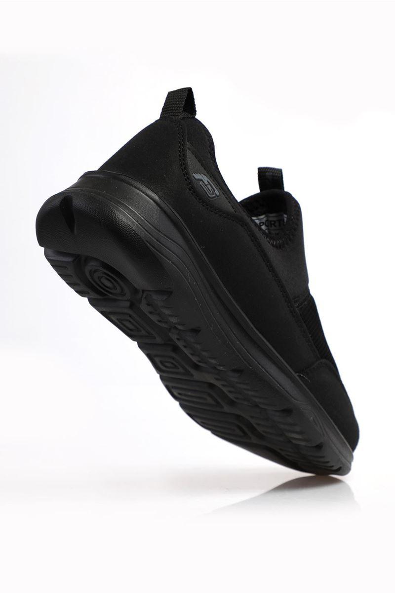 1612 Forza Siyah Faylon Taban Erkek Spor Ayakkabı resmi