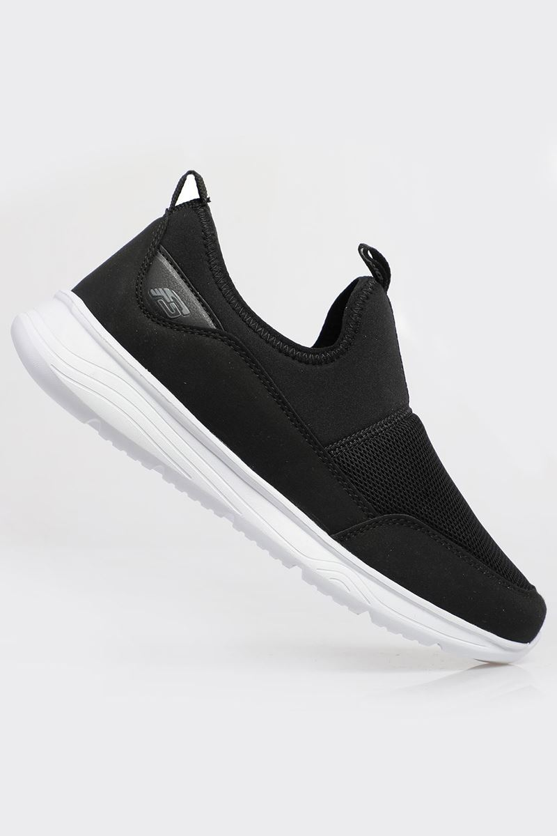 Picture of 1612 Forza Black White Faylon Sole Men's Sport Shoes