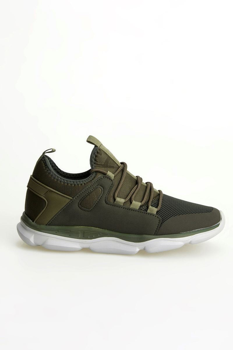 Picture of 1636 Forza Khaki Faylon Sole Men Sport Shoes