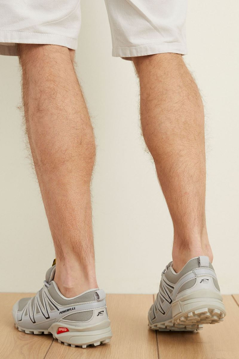 صورة 1661 Forza Buz Siyah Buz Faylon Taban Erkek Spor Ayakkabı