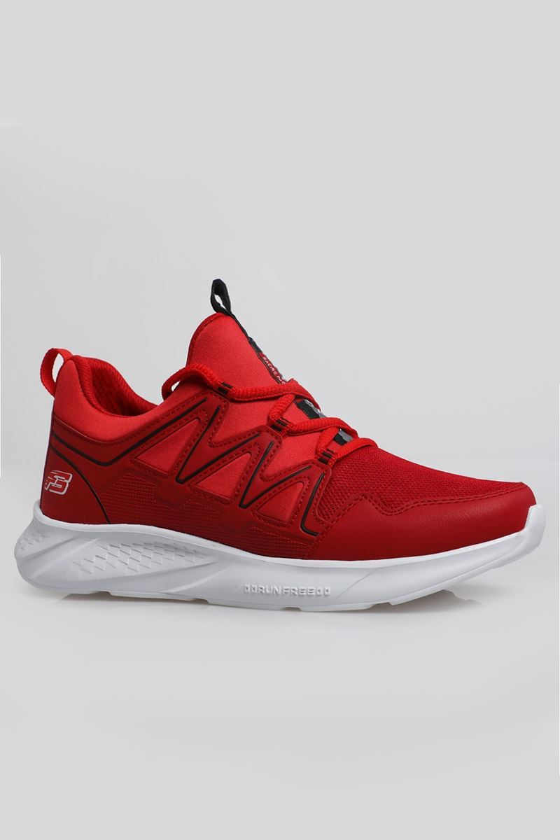 Picture of 2168 Forza Red White Faylon Sole Men's Sport Shoes