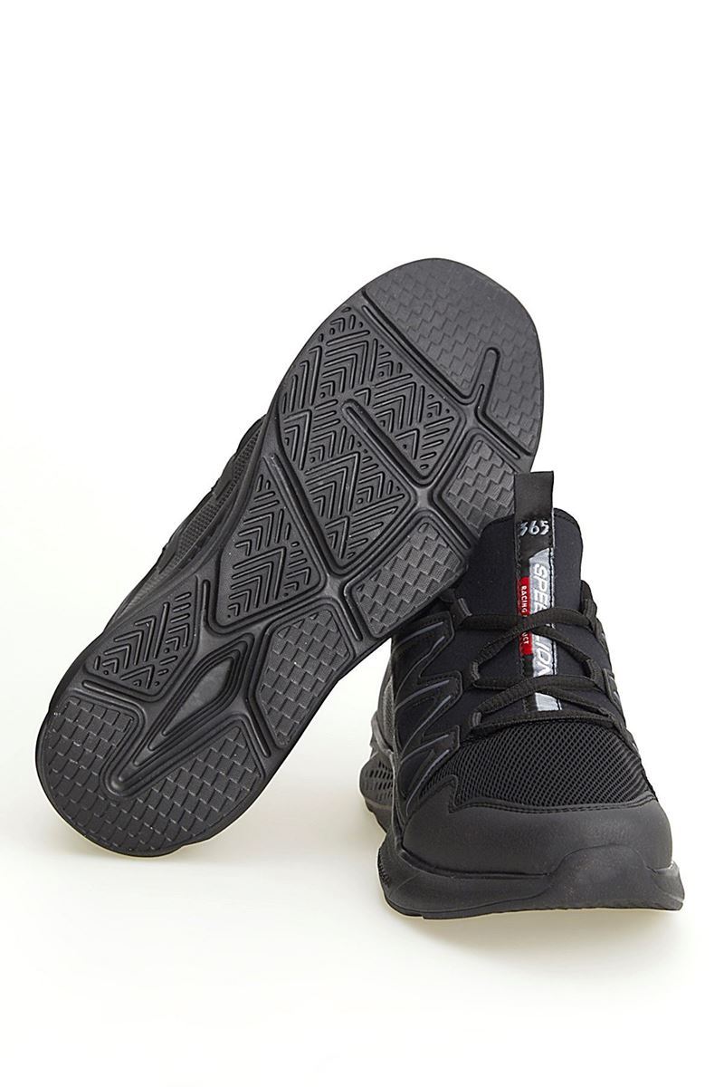 Picture of 2168 Forza Black Smoked Faylon Sole Men's Sport Shoes