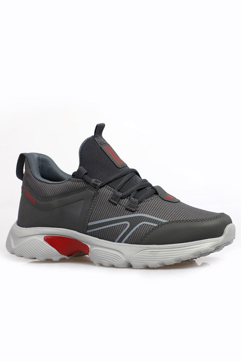 صورة 2192 Forza Füme Buz Kırmızı Taban Erkek Spor Ayakkabı