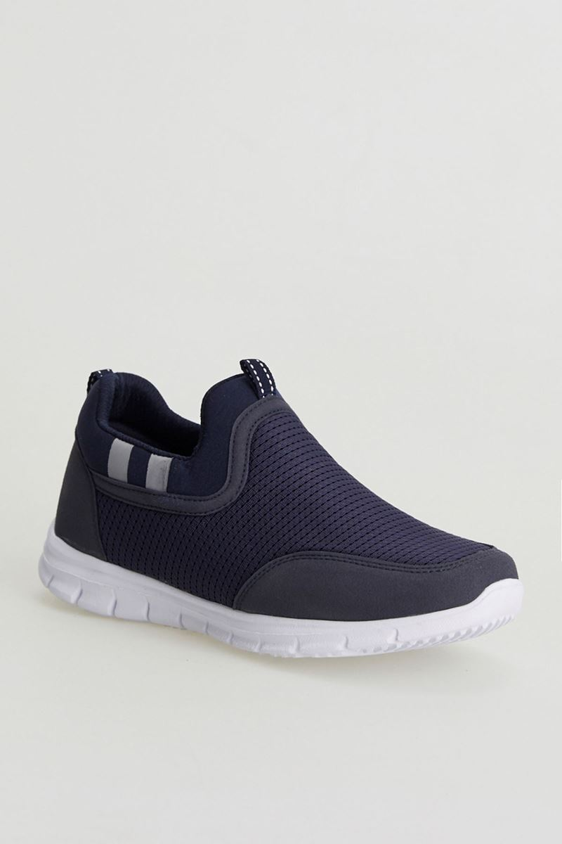 Picture of 3820 Forza Navy Blue White Sole Men Sport Shoes