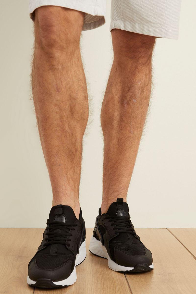 صورة 18726 Forza Siyah Beyaz Faylon Taban Erkek Spor Ayakkabı