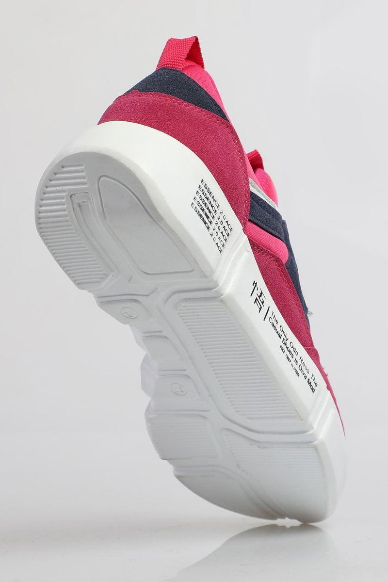 صورة 19805 Forza Fuşya Lacivert Beyaz Faylon Taban Erkek Spor Ayakkabı