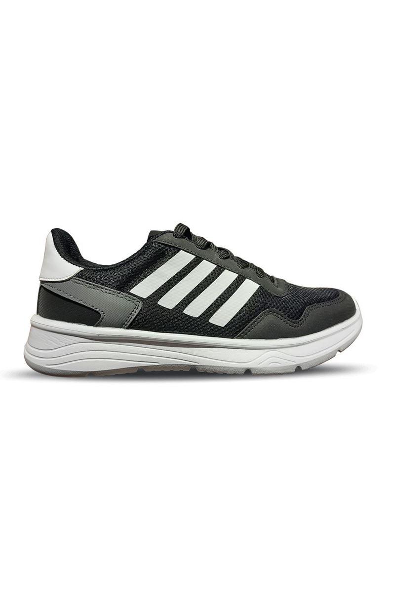 795 Conpax Siyah Beyaz Erkek Ayakkabı resmi