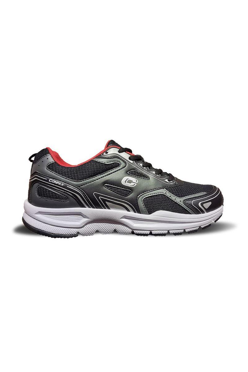 صورة 864 Conpax Siyah Kırmızı Erkek Ayakkabı