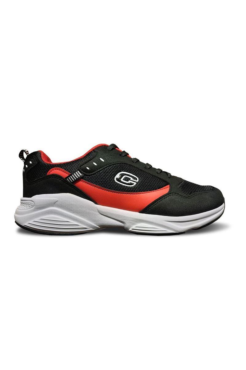 762 Conpax Siyah Kırmızı Erkek Ayakkabı resmi