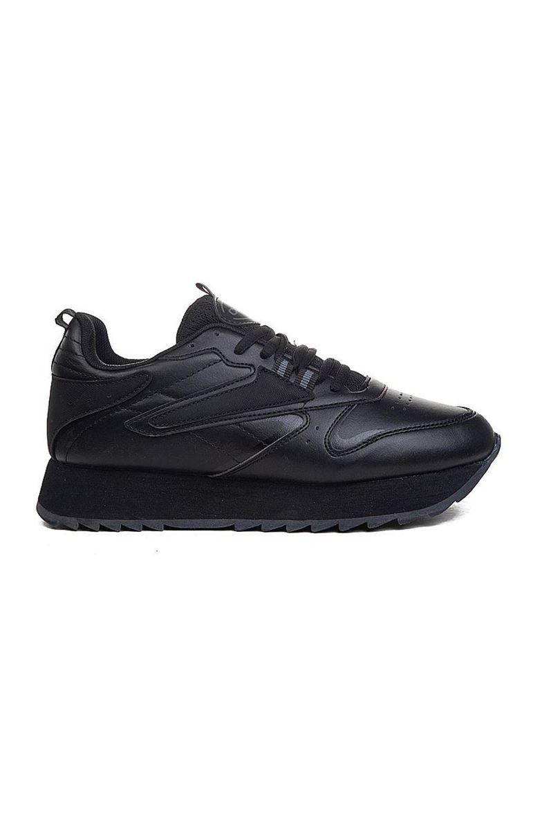 5208 Conpax Siyah Kadın Ayakkabı resmi
