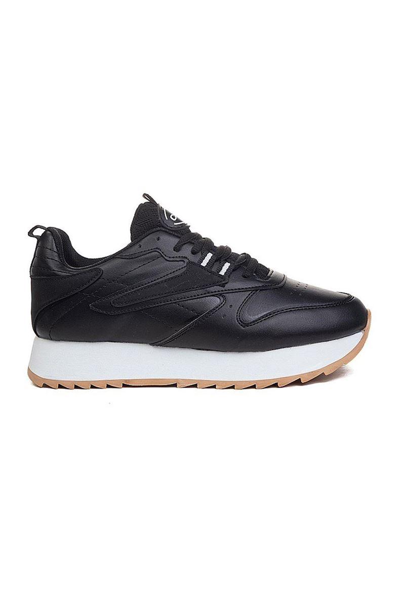 صورة 5208 Conpax Siyah Beyaz Kadın Ayakkabı