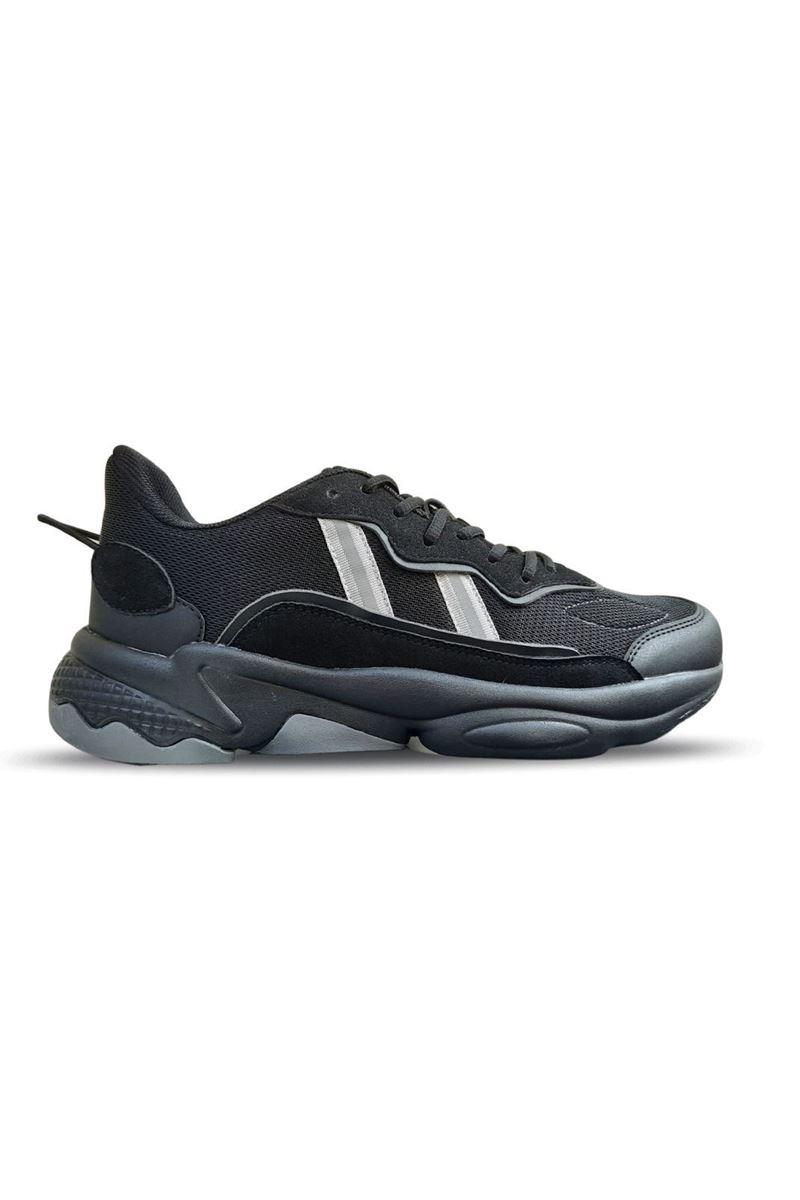 1020 Conpax Siyah Füme Erkek Ayakkabı resmi