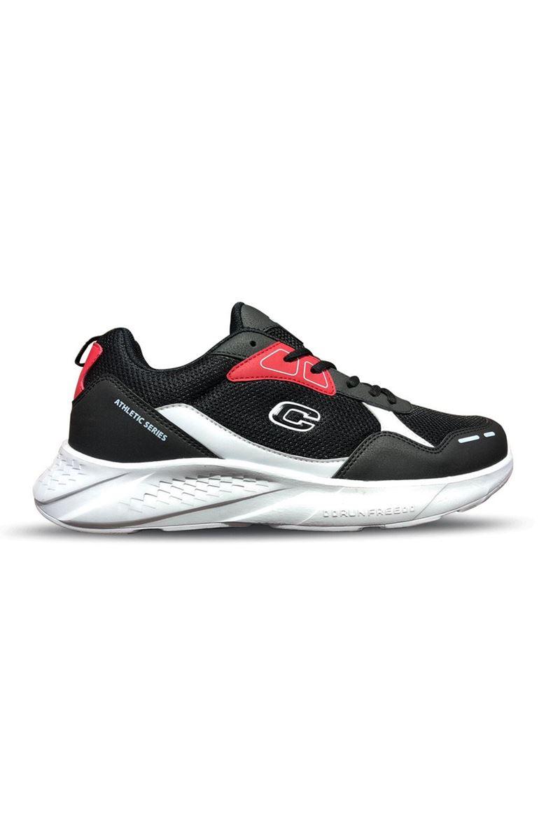 1032 Conpax Siyah Kırmızı Erkek Ayakkabı resmi