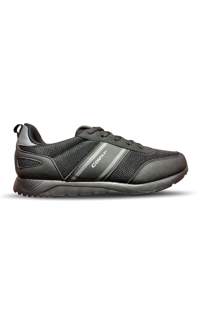 5059 Conpax Siyah Füme Erkek Ayakkabı resmi