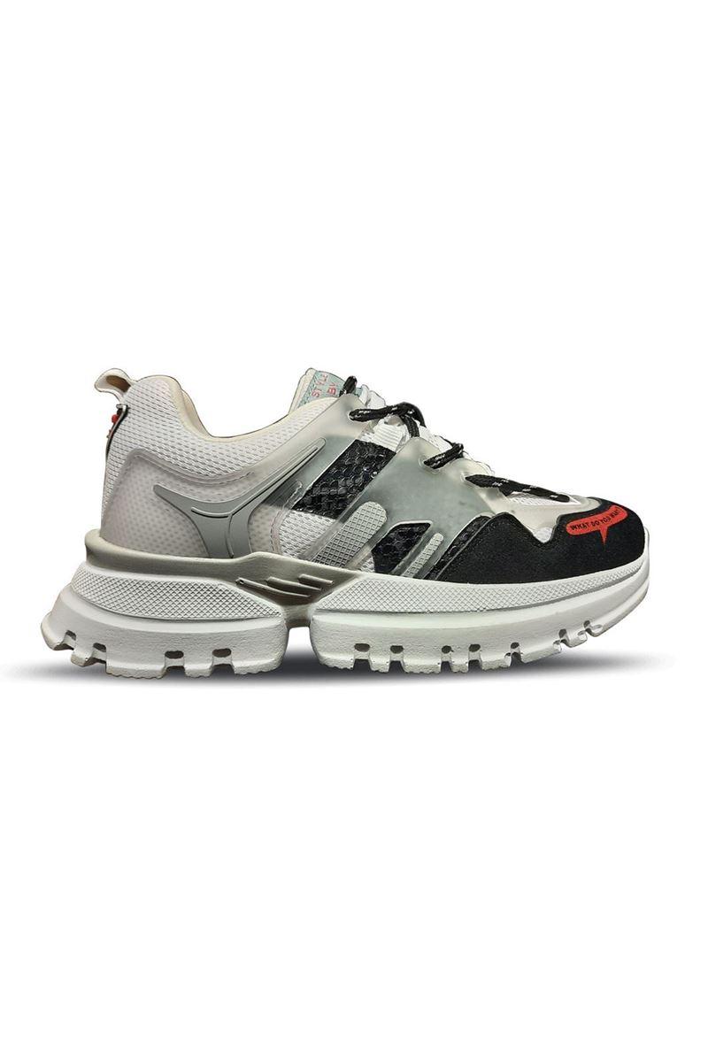 صورة 5154 Conpax Siyah Beyaz Buz Kadın Ayakkabı