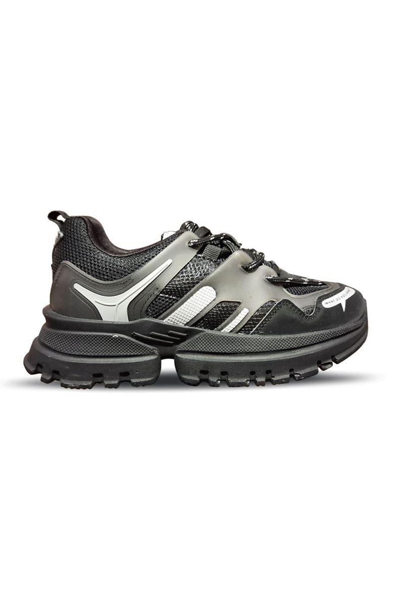 5154 Conpax Siyah Füme Kadın Ayakkabı resmi