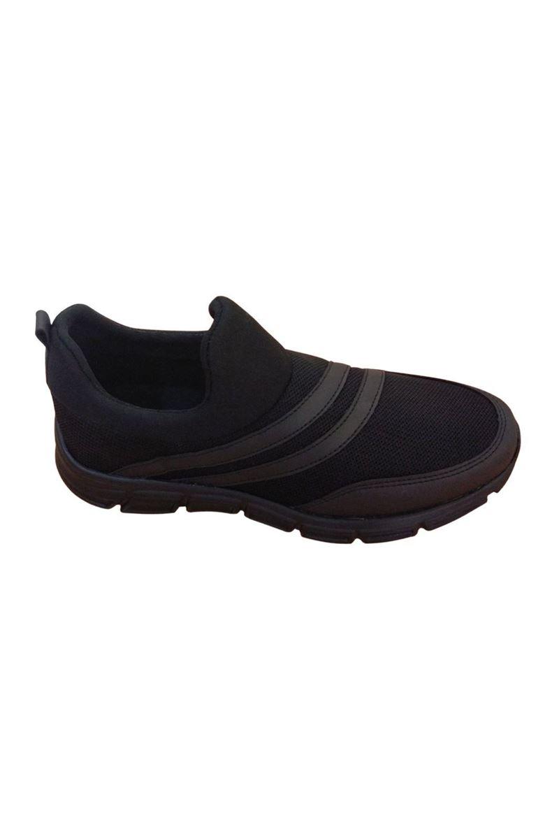 Scot Siyah Faylon Taban Yazlık Spor Ayakkabı resmi