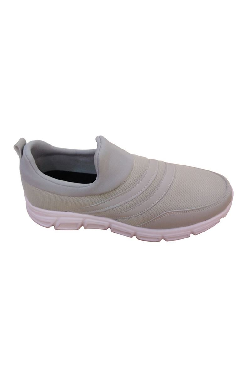 Picture of Scot Cream White Faylon Sole Summer Sneakers