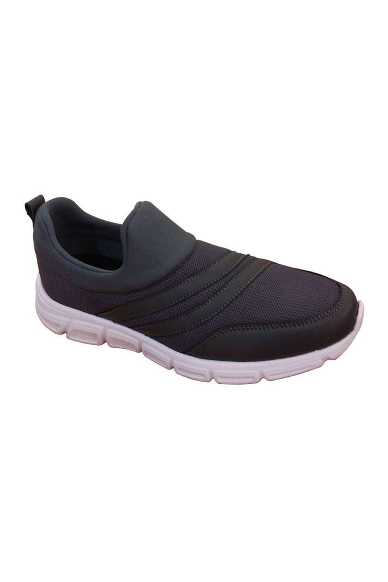 Scot Lacivert Beyaz Faylon Taban Yazlık Spor Ayakkabı resmi
