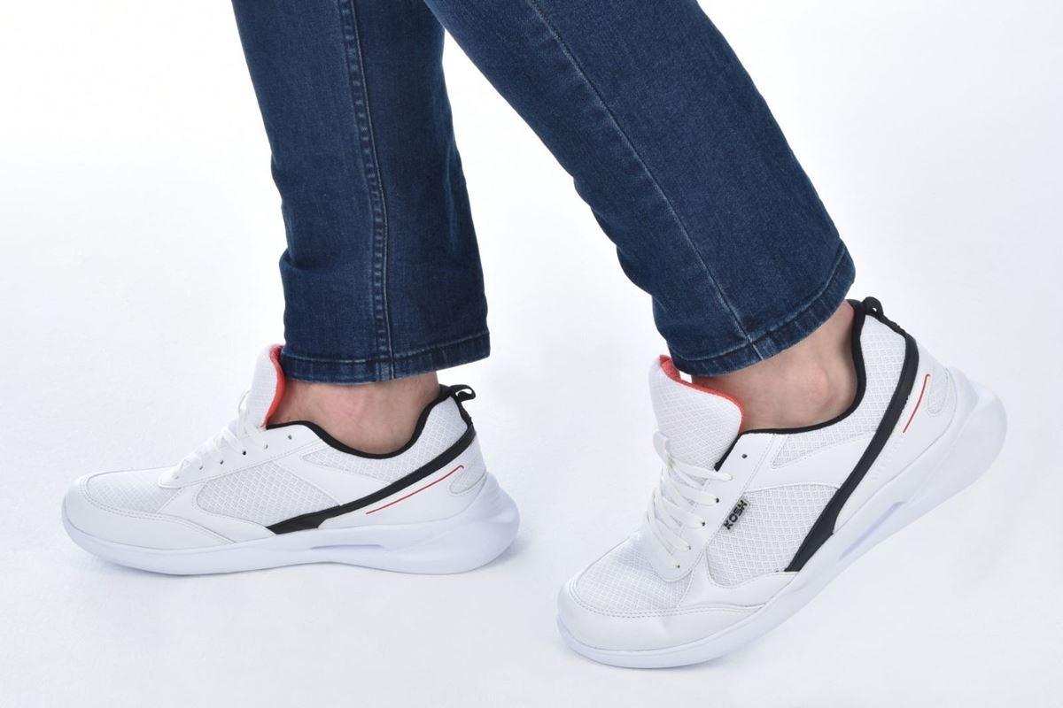 صورة Kosh CESAR001-0 Beyaz Erkek Ayakkabı