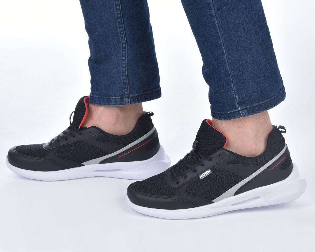 Kosh CESAR001-0 Siyah Erkek Ayakkabı resmi