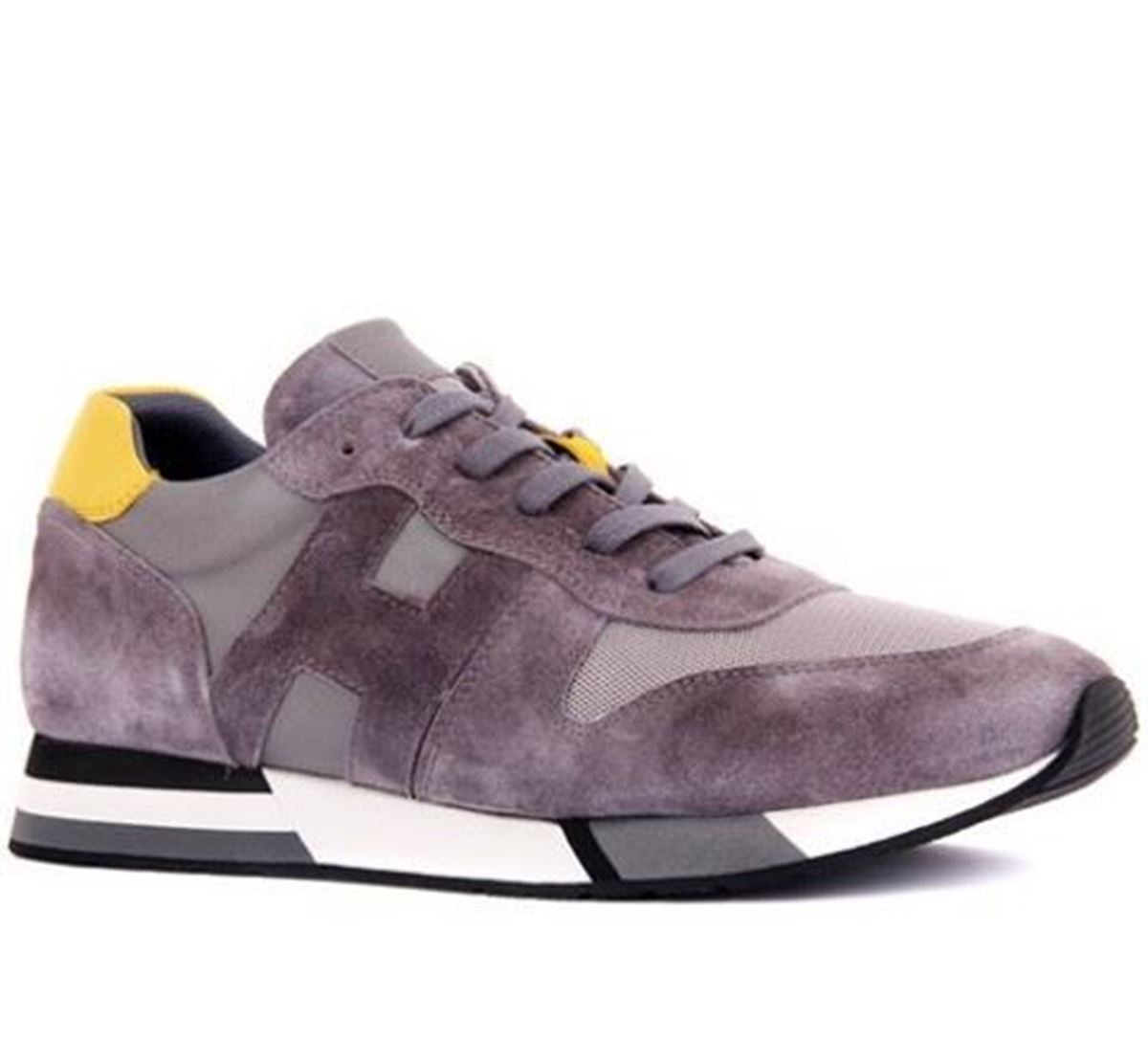 صورة Sail Lakers - Gri Süet Erkek Deri Sneaker