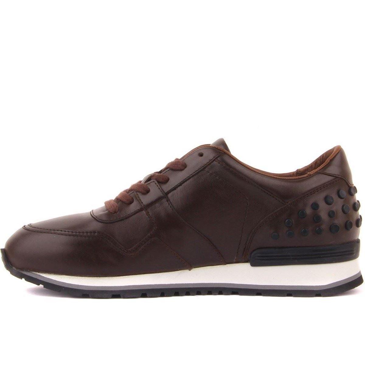 Sail Lakers - Kahverengi Deri Erkek Günlük Ayakkabı resmi