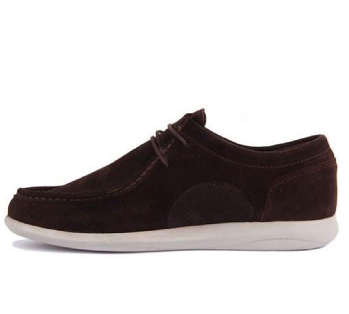 Sail Lakers - Kahverengi Süet Erkek Günlük Ayakkabı resmi