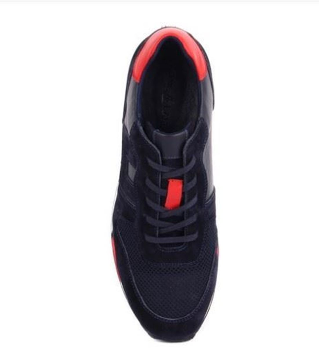 Sail Lakers - Lacivert Süet Erkek Deri Sneaker resmi