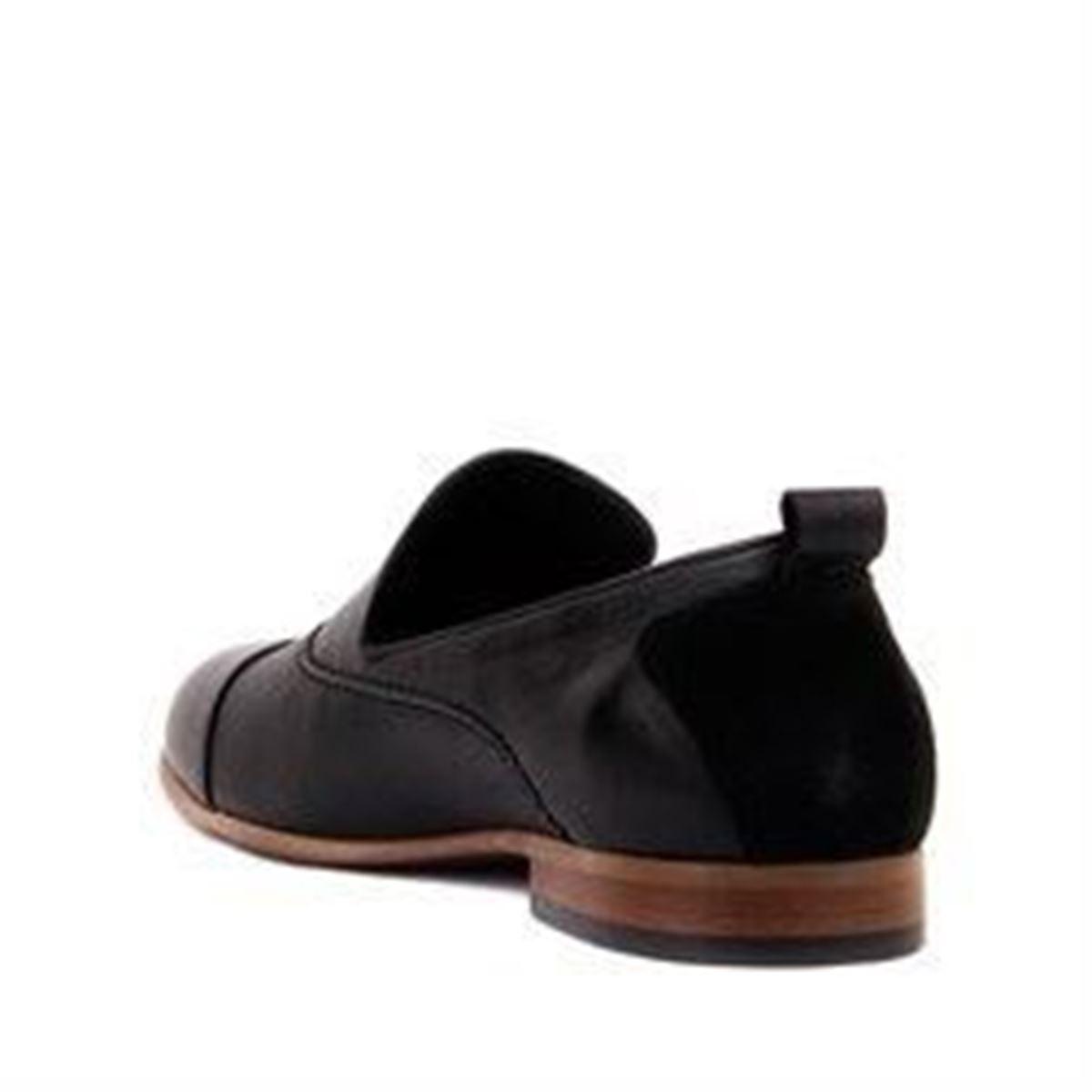 صورة Sail Lakers - Siyah Deri Erkek Günlük Ayakkabı
