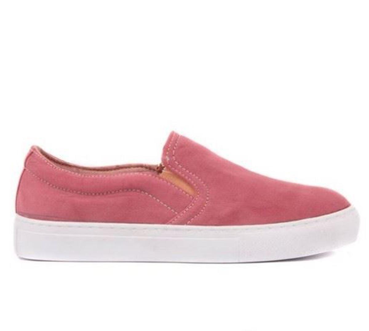 صورة Moxee - Bordo Kadın Günlük Ayakkabı