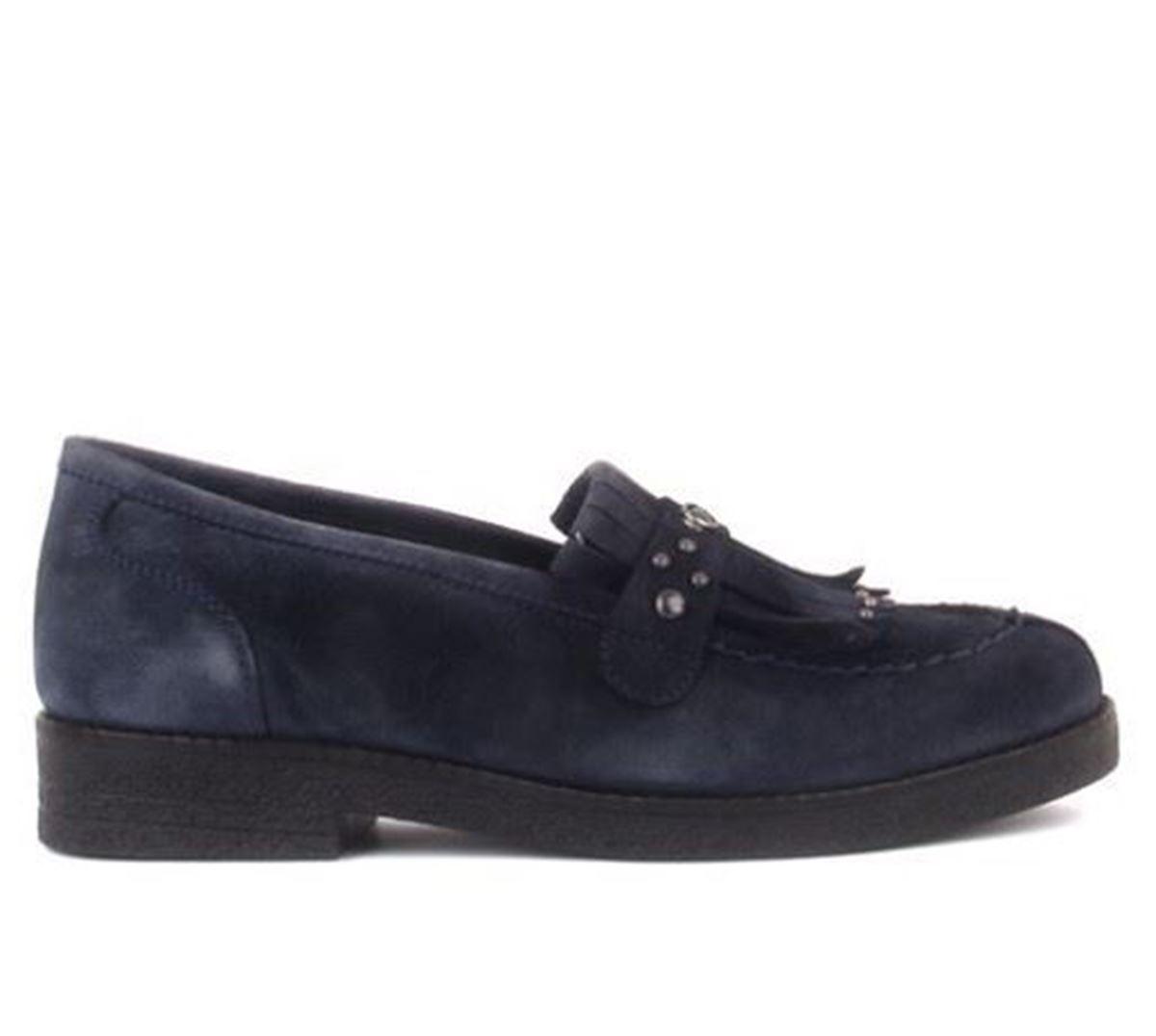 صورة Sail Lakers - Lacivert Süet Kadın Günlük Ayakkabı