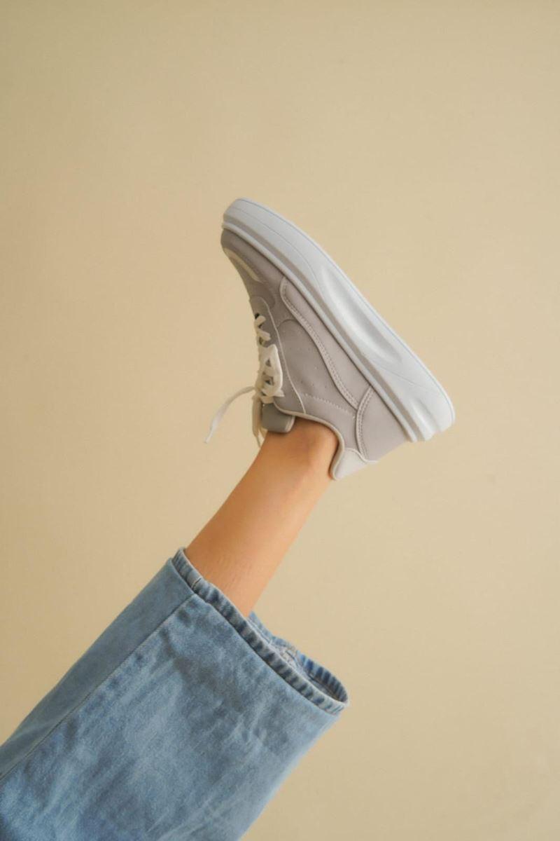Pilla Gri Kadın Ayakkabı resmi