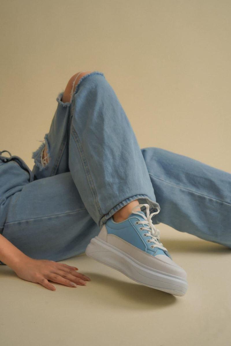 صورة Pilla Mavi Beyaz Kadın Ayakkabı