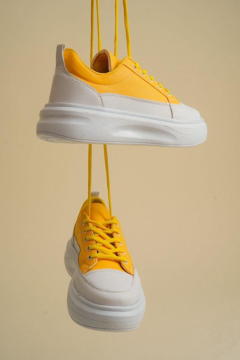 Pilla Koyu Sarı Kadın Ayakkabı resmi