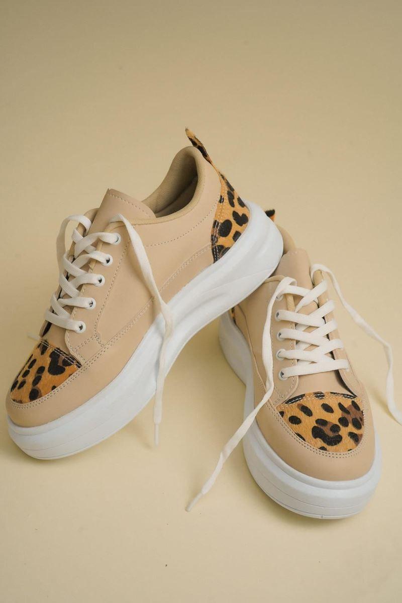 Pilla Açık Kahverengi Kadın Ayakkabı resmi