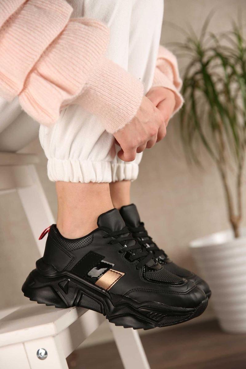 صورة Pilla Siyah Kadın Ayakkabı