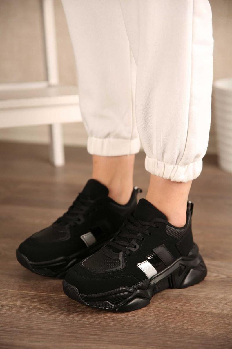 Picture of Pilla Siyah Kadın Ayakkabı
