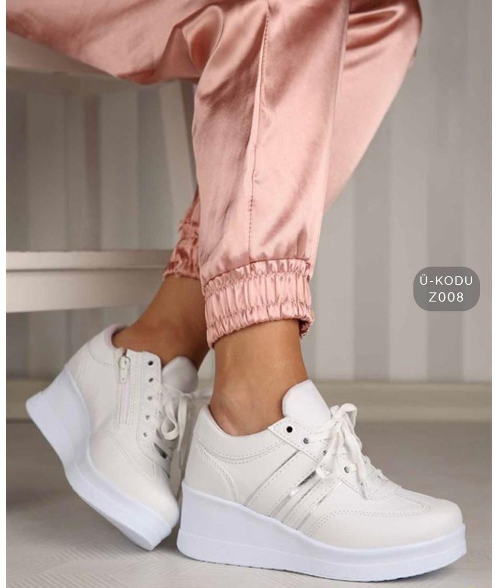 Pilla Krem Rengi Kadın Ayakkabı resmi