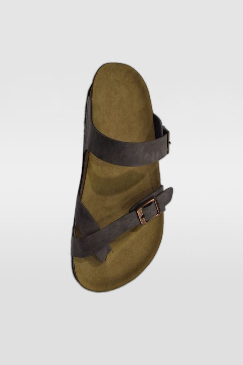 Picture of YT Dark Brown Woman Slipper